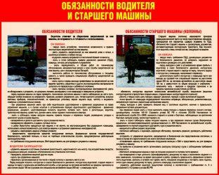 Должностные обязанности водителя пожарного автомобиля