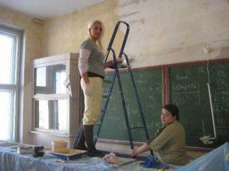 Ремонт в классе школы кто должен делать?