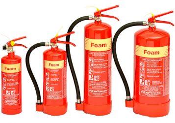 Какие огнетушители имеют пеногенераторы?