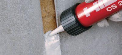 Противопожарный силиконовый герметик